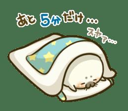 Cute Baby Harbor seal 2!! sticker #5211901