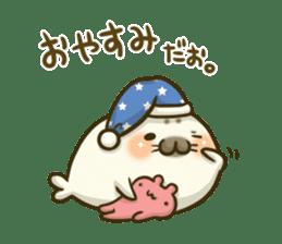 Cute Baby Harbor seal 2!! sticker #5211902
