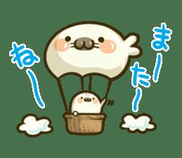 Cute Baby Harbor seal 2!! sticker #5211903