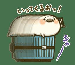 Cute Baby Harbor seal 2!! sticker #5211904