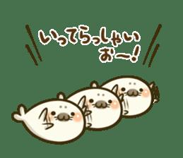 Cute Baby Harbor seal 2!! sticker #5211905