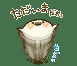 Cute Baby Harbor seal 2!! sticker #5211906
