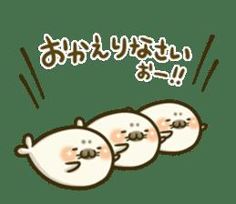 Cute Baby Harbor seal 2!! sticker #5211907