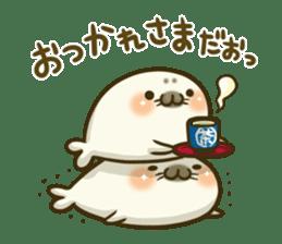 Cute Baby Harbor seal 2!! sticker #5211909