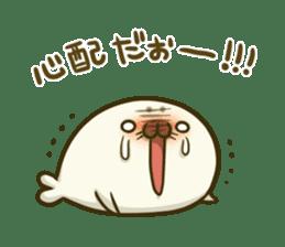Cute Baby Harbor seal 2!! sticker #5211910