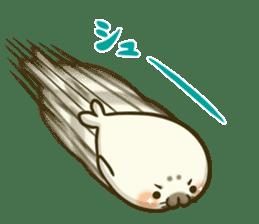 Cute Baby Harbor seal 2!! sticker #5211912