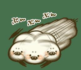 Cute Baby Harbor seal 2!! sticker #5211914