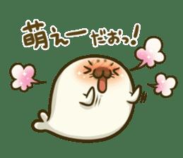 Cute Baby Harbor seal 2!! sticker #5211918