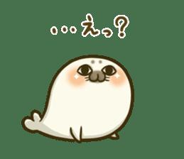Cute Baby Harbor seal 2!! sticker #5211919
