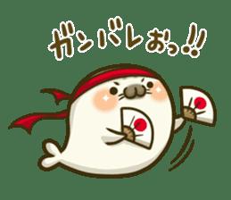 Cute Baby Harbor seal 2!! sticker #5211925