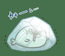 Cute Baby Harbor seal 2!! sticker #5211927