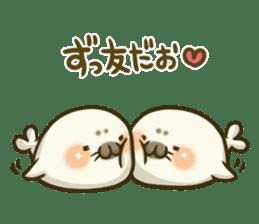 Cute Baby Harbor seal 2!! sticker #5211936