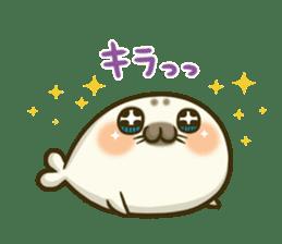 Cute Baby Harbor seal 2!! sticker #5211937