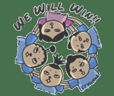 Eleven Samurai (English ver.) sticker #5212072