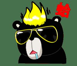 Formosan black bear boss sticker #5217765