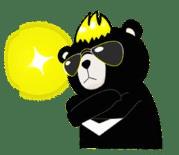 Formosan black bear boss sticker #5217768