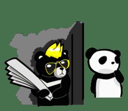 Formosan black bear boss sticker #5217773
