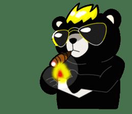 Formosan black bear boss sticker #5217774