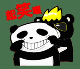 Formosan black bear boss sticker #5217775