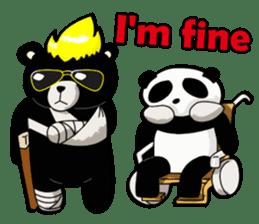 Formosan black bear boss sticker #5217784