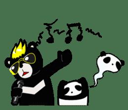 Formosan black bear boss sticker #5217787