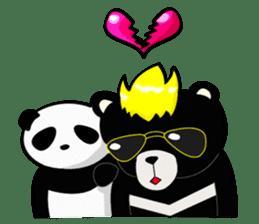 Formosan black bear boss sticker #5217792