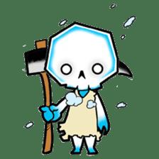 God of death sticker #5223964