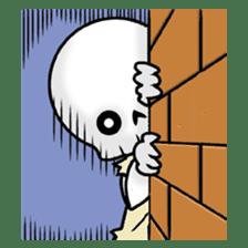 God of death sticker #5223970