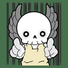 God of death sticker #5223974