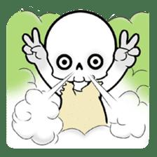 God of death sticker #5223976