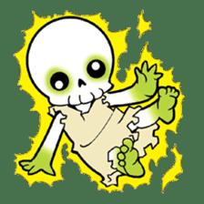 God of death sticker #5223977