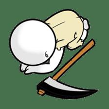 God of death sticker #5223983