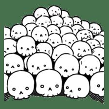 God of death sticker #5223984