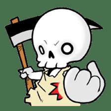 God of death sticker #5223988