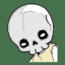 God of death sticker #5223991
