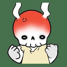 God of death sticker #5223996