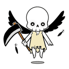 God of death sticker #5223999