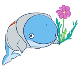 James The Whale sticker #5224887