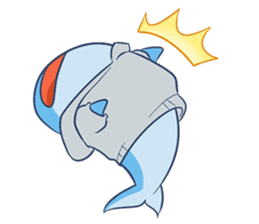 James The Whale sticker #5224888