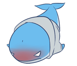 James The Whale sticker #5224889