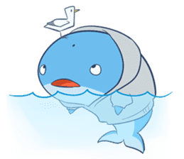 James The Whale sticker #5224890