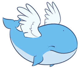 James The Whale sticker #5224892
