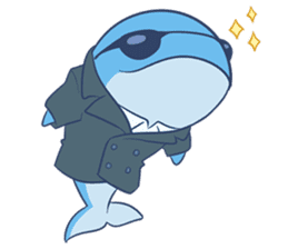James The Whale sticker #5224901