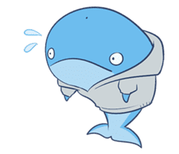 James The Whale sticker #5224902