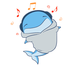 James The Whale sticker #5224904
