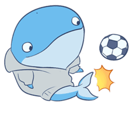 James The Whale sticker #5224911