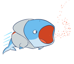 James The Whale sticker #5224912