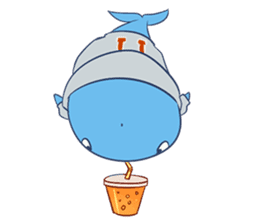 James The Whale sticker #5224916