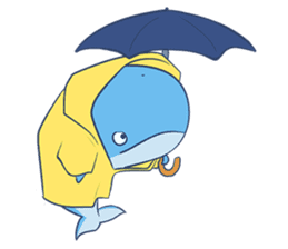 James The Whale sticker #5224918