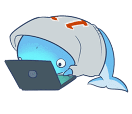 James The Whale sticker #5224919